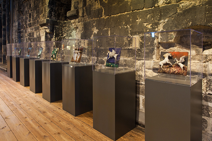 Enchanted Garden at Norwich Castle Museum 2015-17