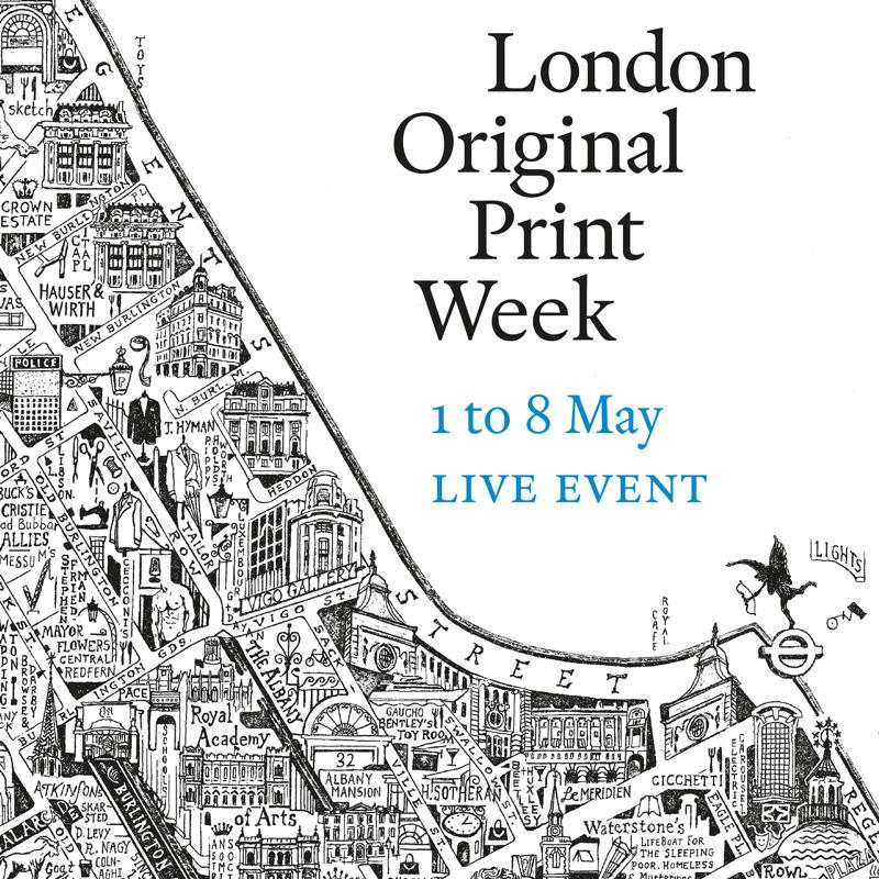 London Original Print Week